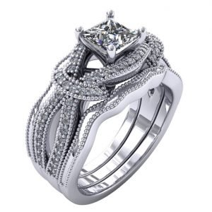 טבעת מעוצבת הייזל