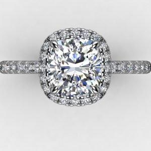 טבעת יוקרתית רובי