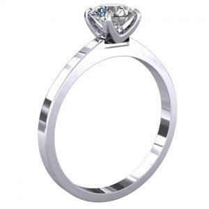טבעת יהלום סוליטר קלי