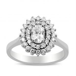 טבעת אירוסין מעוצבת אנסטסיה