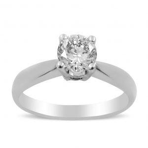 טבעת סוליטר לינדה