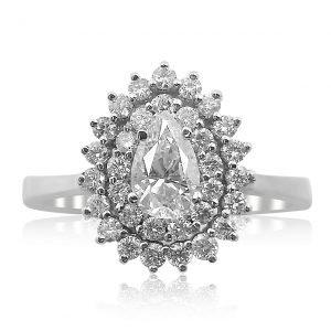 טבעת אירוסין אזמרלדה