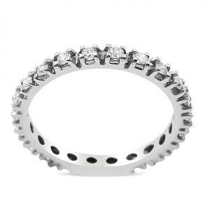 טבעת יהלומים זיווה