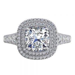 טבעת אירוסין יוקרתית רוזמרי