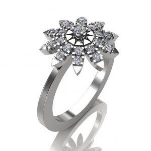 טבעת מעוצבת רויאלטי