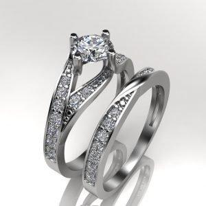 טבעת אירוסין יוקרתית אוליביה
