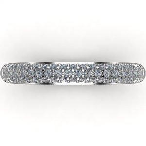 טבעת יהלומים מעוצבת סימפליסיטי