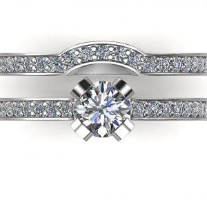 טבעת אירוסין פאולה