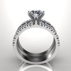טבעת אירוסין סוליטר אליס