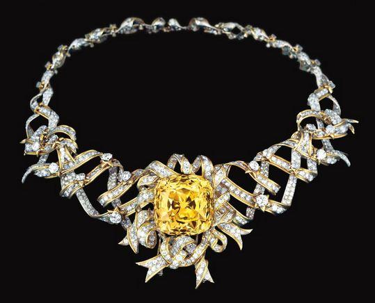 יהלום טיפאני הצהוב