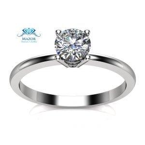 טבעת אירוסין 10 נקודות