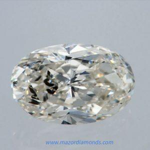 יהלום אובל 1.03 קראט I-SI1