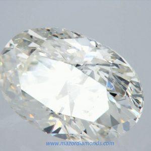 יהלום אובל 1.01 קראט I-SI2