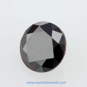יהלום פנסי שחור כתום מיוחד 0.56 קראט