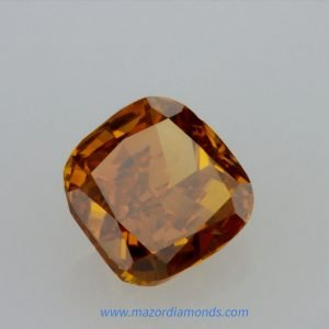 יהלום צבע פנסי כתום 0.63 קראט