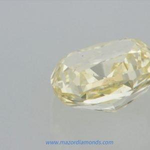 יהלום פנסי צהוב בהיר 1.03 קראט