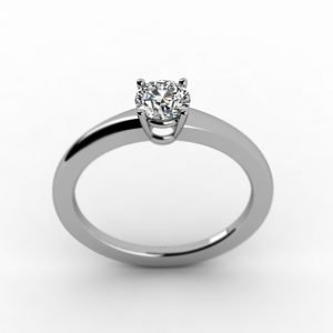 Exclusive Solitaire Engagement Ring